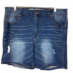 Primary Photo - BRAND:    CLOTHES MENTOR STYLE: SHORTS COLOR: BLUE SIZE: 18 OTHER INFO: V.I.P. JEANS - SKU: 210-210157-1240