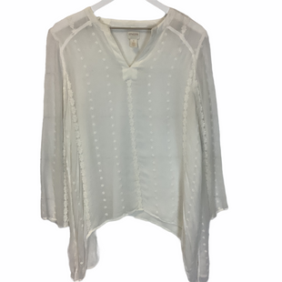 Primary Photo - BRAND: CHICOS STYLE: TOP LONG SLEEVE COLOR: WHITE SIZE: XS SKU: 210-210106-28210
