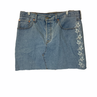 Primary Photo - BRAND: LEVIS STYLE: SKIRT COLOR: BLUE SIZE: 32 SKU: 210-210157-1153
