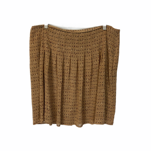 Primary Photo - BRAND: LOFT STYLE: SKIRT COLOR: TAN SIZE: 14 SKU: 210-210145-1239