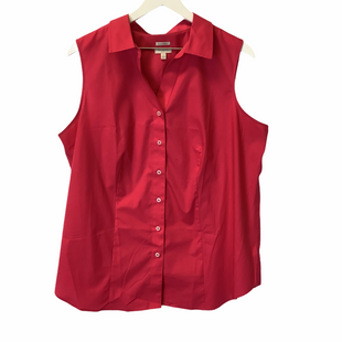 Primary Photo - BRAND: TALBOTS STYLE: TOP SLEEVELESS COLOR: PINK SIZE: 1X SKU: 210-210166-1219
