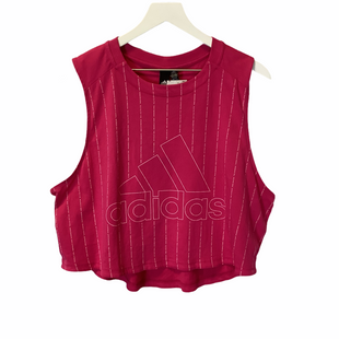 Primary Photo - BRAND: ADIDAS STYLE: ATHLETIC TANK TOP COLOR: PINK SIZE: XL SKU: 210-210106-27471
