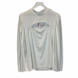 Primary Photo - BRAND: IT STYLE: TOP LONG SLEEVE COLOR: WHITE SIZE: 3X SKU: 210-210106-30150