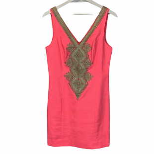 Primary Photo - BRAND: LILLY PULITZER STYLE: DRESS SHORT SLEEVELESS COLOR: PINK SIZE: 4 SKU: 210-210159-412AS IS SPOTTING