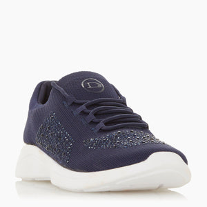 Easy Lace Up - Navy