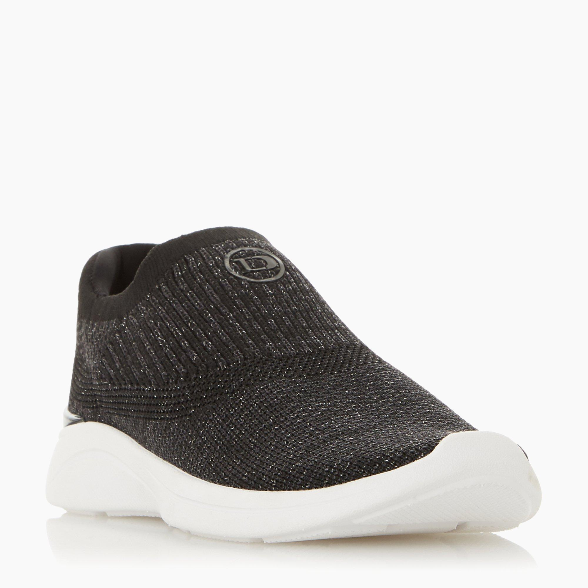 Easy Slip On - Black Fabric