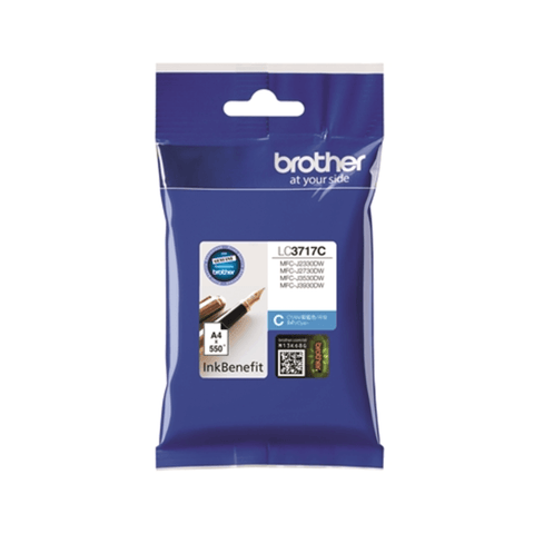 Brother LC3717 Cyan Ink Cartridge