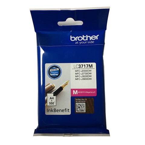 Brother LC3717 Magenta Ink Cartridge