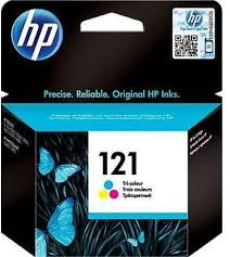 HP 121 TRI-COLOR INK CARTRIDGE