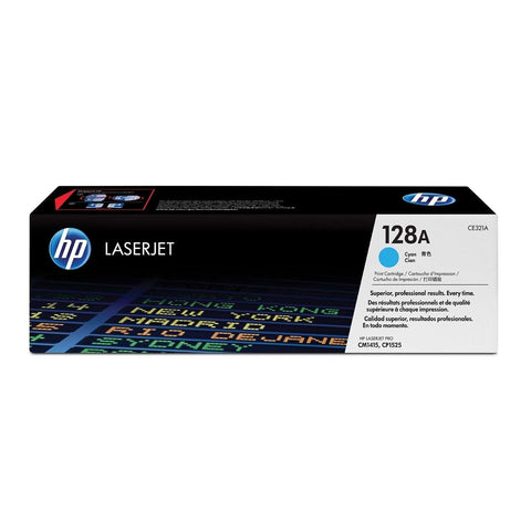 HP 128A CYAN TONER CARTRIDGE
