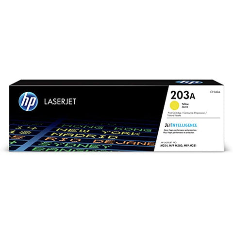 HP 203A Yellow Toner Cartridge