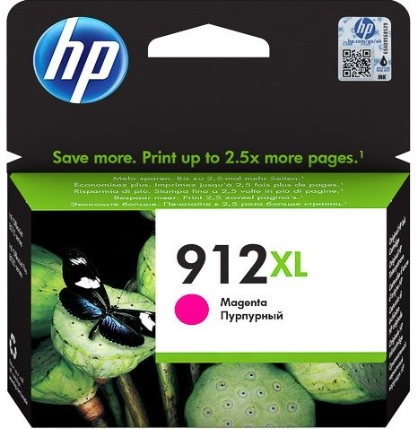 HP 912XL Magenta High Yeild Ink Cartridge