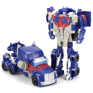 Transformation Robot Toys Optimus Tobot Bumblebee