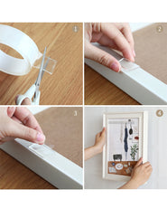 Load image into Gallery viewer, Nano-Magic Tape Double Sided Transparent Tape Reusable & Waterproof