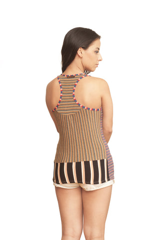 Eco Tank Top: Stripey