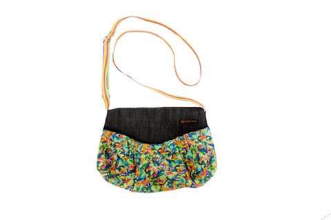 Crossbody Eco Purse: Primavera Flor