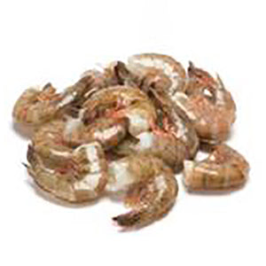 WILD Mexican Jumbo Shrimp, Block, Shell-On, 21/25, 5 lb