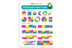 ARTshapes™ 840-Shape Pack with Idea Guide