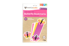 Load image into Gallery viewer, Butterfly Bookmarks Punch-Out Paper Craft Kit – Makes 12 Bookmarks