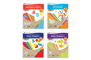 Essential Letters and Shapes 4-Pack Bundle Deal