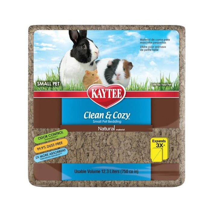 Kaytee Clean & Cozy Natural Bedding Various Sizes