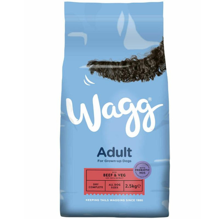 Wagg Complete Original Beef and Veg 2.5kg