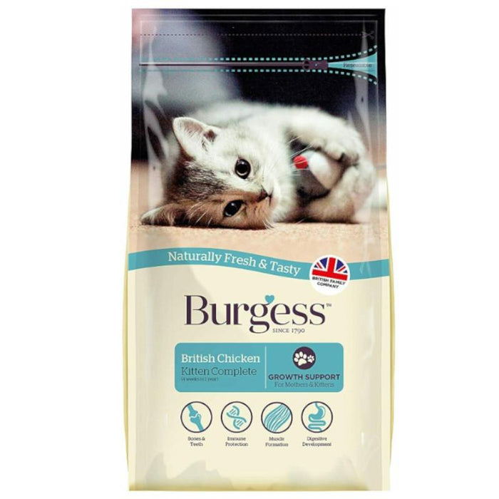 Burgess Kitten Chicken 1.5kg x 2