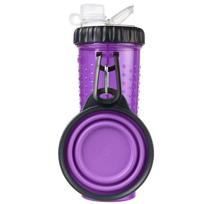 Dexas Popware Snack Duo With Travel Water Cup 360ml Various Colours