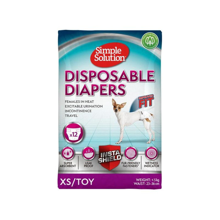 Simple Solution Disposable Diaper Various Sizes