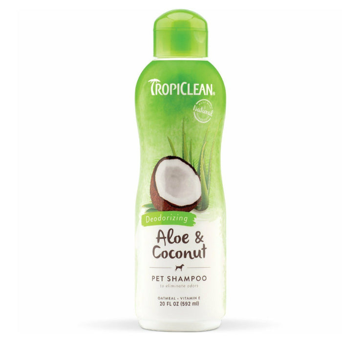 TropiClean Aloe and Coconut Shampoo 592ml