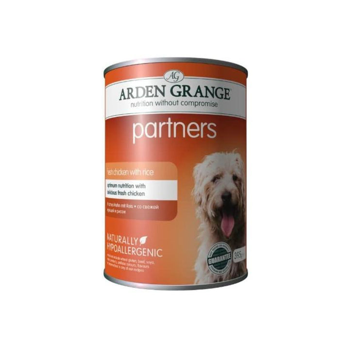 Arden Grange Complete Dog Food Chicken Rice and Vegetables 12 x 395g