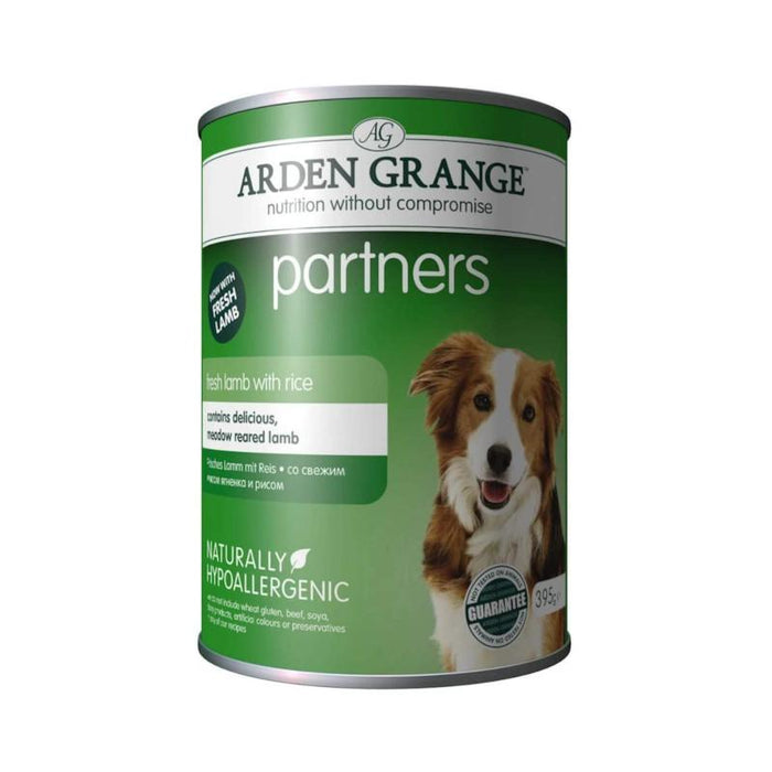 Arden Grange Complete Dog Food Lamb Rice and Vegetables 12 x 395g