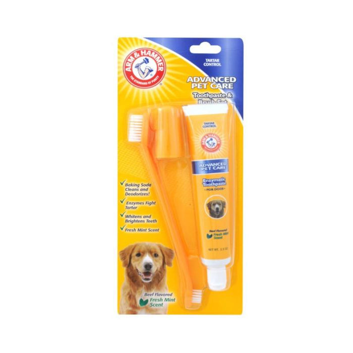 Arm & Hammer Toothpaste and Brush Set Beef