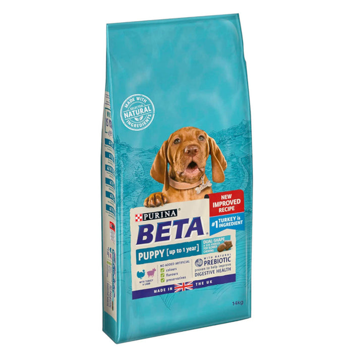 BETA Puppy Dry Dog Food with Turkey & Lamb 14kg