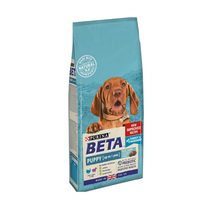 BETA Puppy Dry Dog Food with Turkey & Lamb 2kg