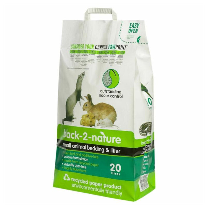 Back To Nature Small Animal Bedding and Litter 20L