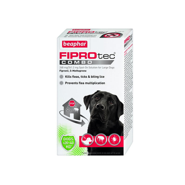 Beaphar Fiprotec Combo Large Dog 3 Pipettes