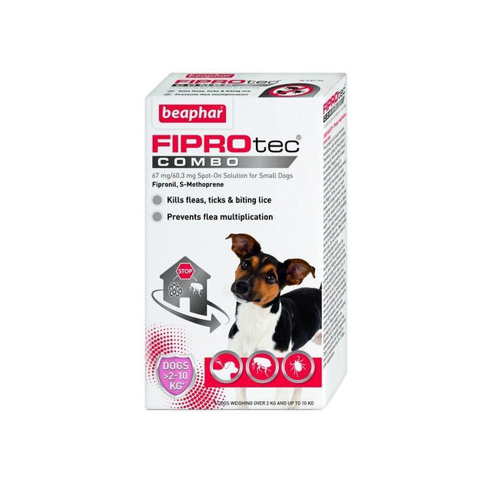 Beaphar Fiprotec Combo Small Dog 3Pipettes