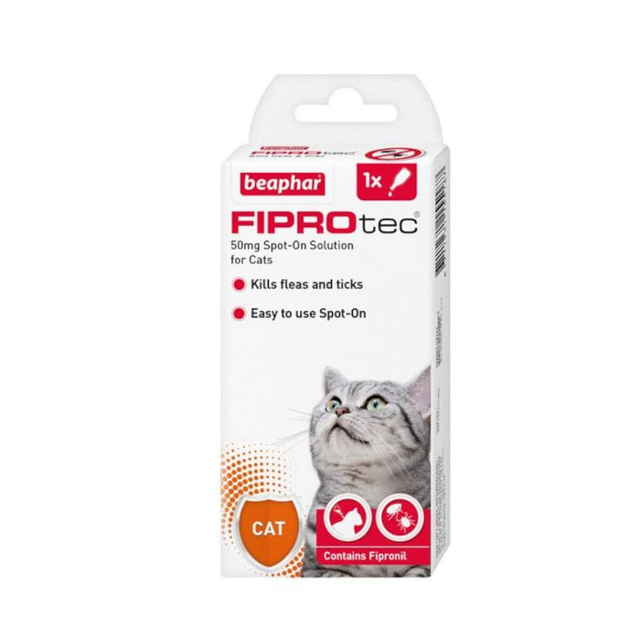 Beaphar Fiprotec Spot On Cat 50mg 1 Pipette