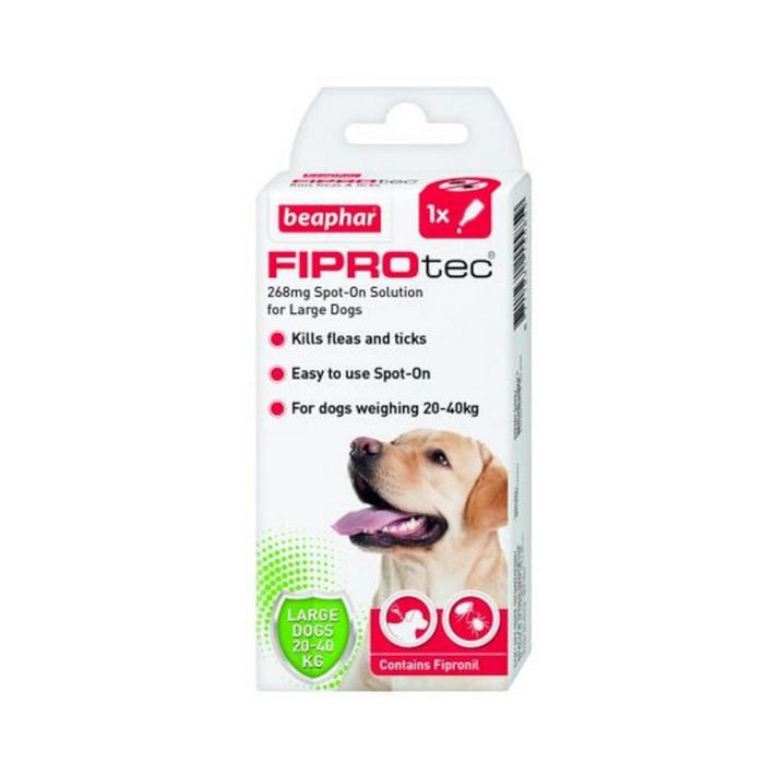 Beaphar Fiprotec Spot On Large Dog 1 Pipette