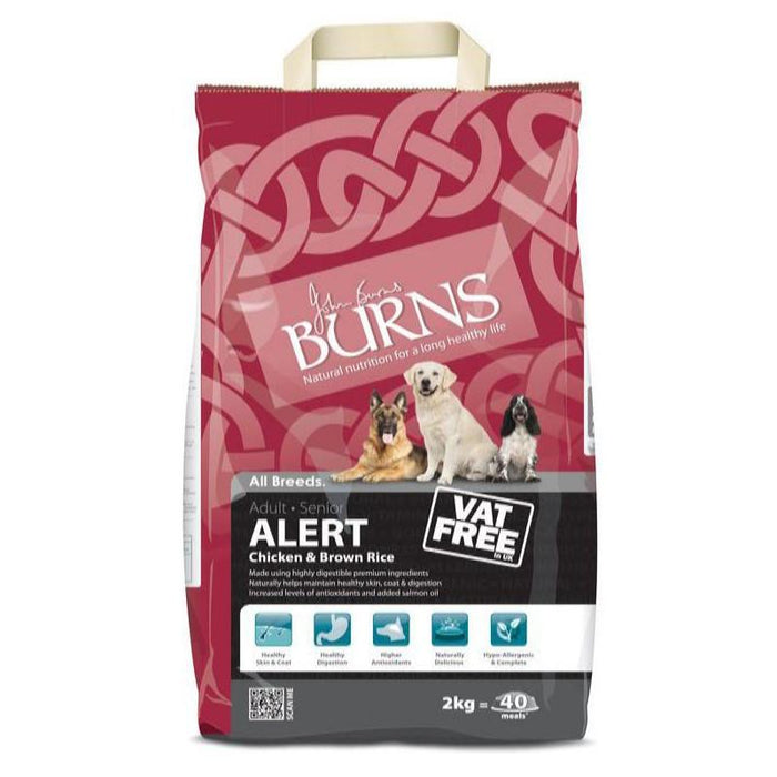Burns Dog Alert Chicken & Brown Rice 2kg