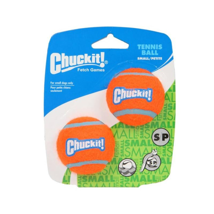 Chuckit Tennis Ball Small 4.8 cm Pack of 2