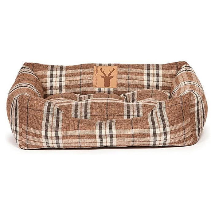 Danish Design Snuggle Dog Bed Newton Truffle Various Sizes