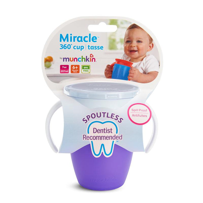 Munchkin Miracle 360 Trainer Cup 207ml  Various Colours