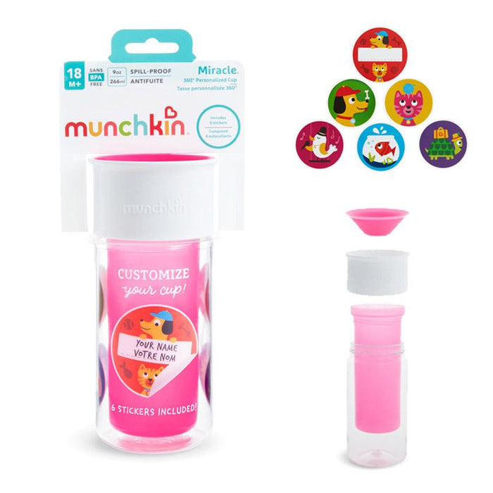 Munchkin My Miracle 360 Insulated Personalised Cup