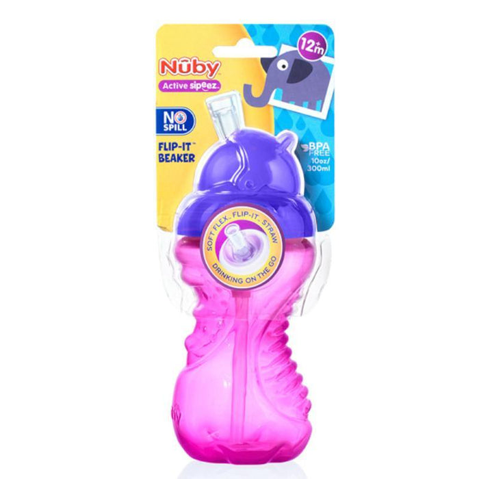 Nuby Flip It Beaker Active Sipeez 300ml