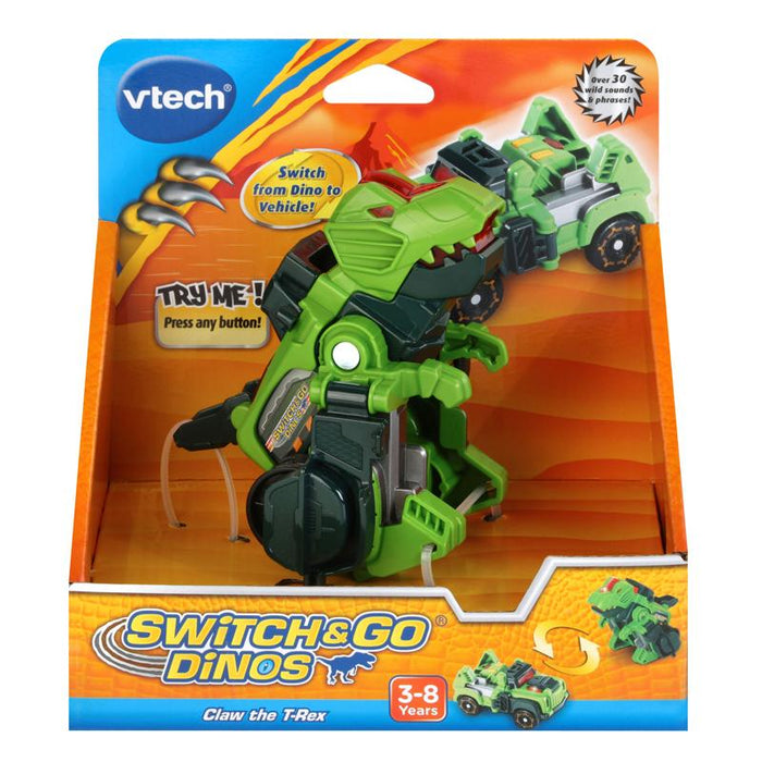 Vtech Switch & Go Dinos Claw the TRex