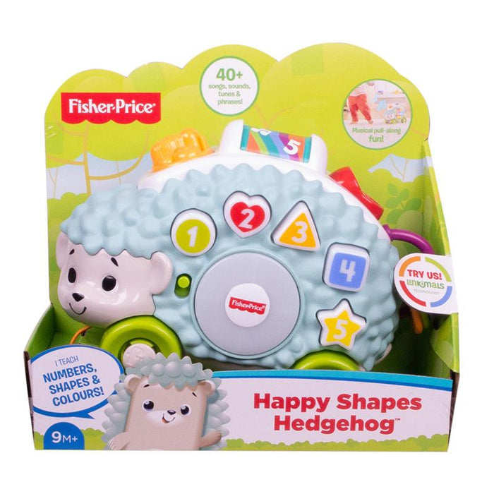 Fisher-Price Linkimals Happy Shape Hedgehog Musical Baby Toy