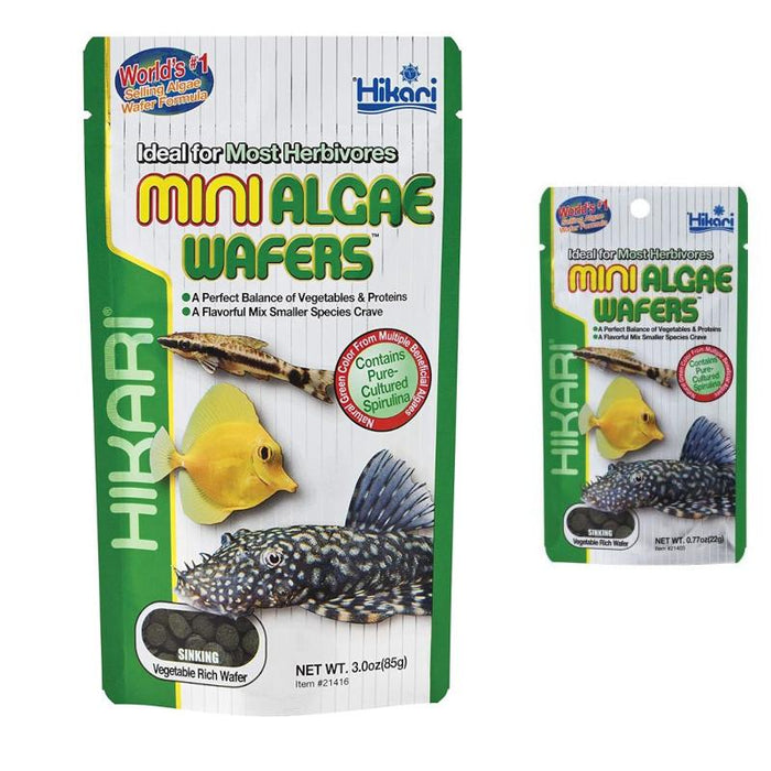 Hikari Mini Algae Wafers Various Weights