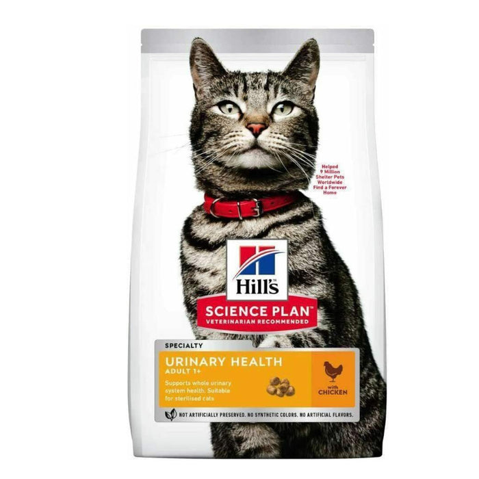 Hills Science Plan Cat Adult Dry Chicken Urinary 1.5kg